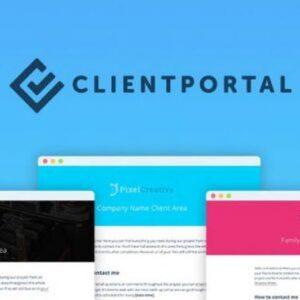 دانلود افزونه وردپرس پرتال مشتریان Client Portal