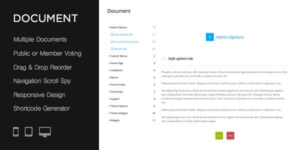 دانلود افزونه وردپرس داکیومنتیشن و راهنمای آنلاین Document
