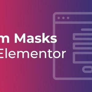 دانلود افزونه وردپرس ماسک فرم Form Masks برای المنتور