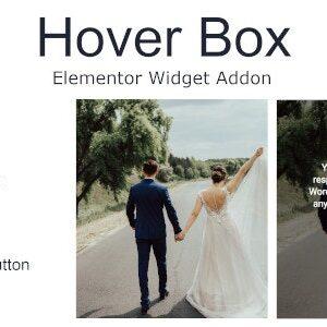 دانلود افزونه وردپرس Hover Box برای المنتور