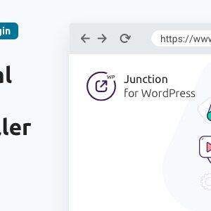 دانلود افزونه وردپرس مدیریت لینک های خروجی Junction