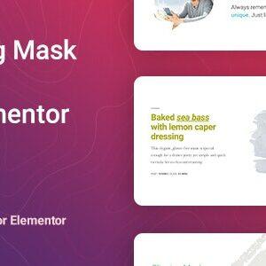 دانلود افزونه وردپرس ماسک تصاویر Masker برای المنتور