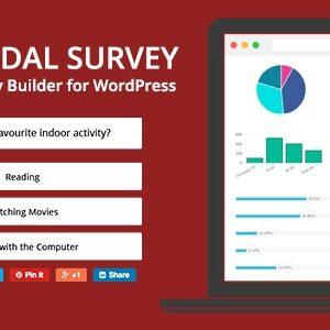 دانلود افزونه وردپرس نظرسنجی و پرسشنامه Modal Survey