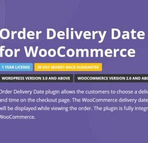 دانلود افزونه ووکامرس Order Delivery Date Pro