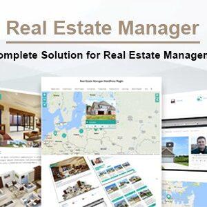 دانلود افزونه وردپرس خرید و فروش ملک Real Estate Manager Pro
