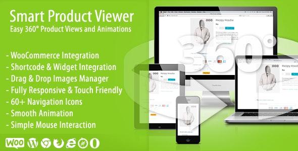 دانلود افزونه ووکامرس انیمیشن 360 درجه Smart Product Viewer