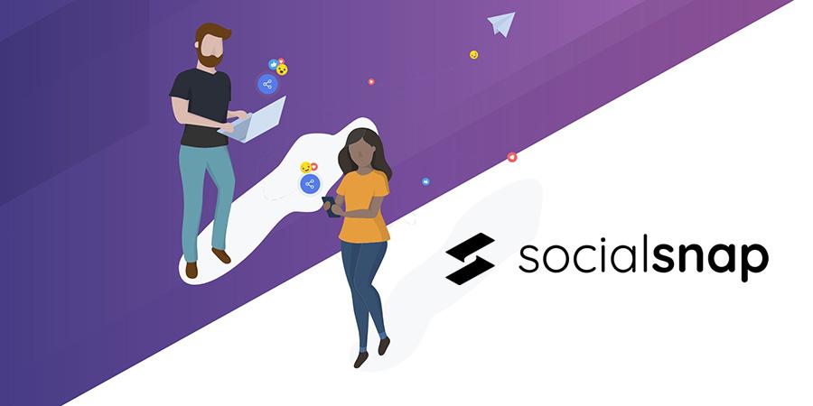 دانلود افزونه وردپرس شبکه های اجتماعی Social Snap