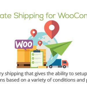 دانلود افزونه ووکامرس نرخ حمل و نقل Table Rate Shipping