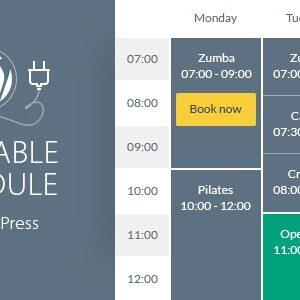 دانلود افزونه وردپرس زمانبندی و برنامه ریزی Timetable
