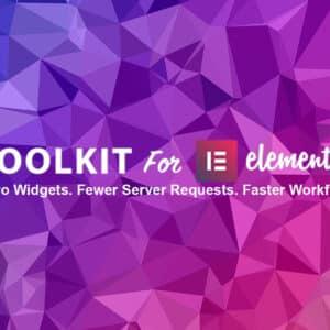 دانلود افزونه وردپرس ToolKit برای المنتور