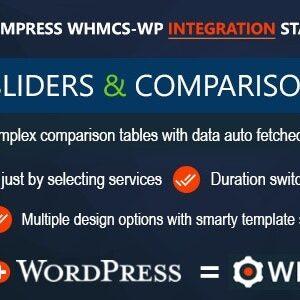 دانلود افزونه وردپرس WHMCS Pricing Sliders and Comparison Tables