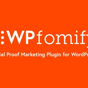 دانلود افزونه وردپرس WPfomify