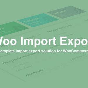 دانلود افزونه وردپرس Woo Import Export