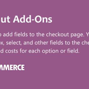 دانلود افزونه ووکامرس WooCommerce Checkout Add-Ons