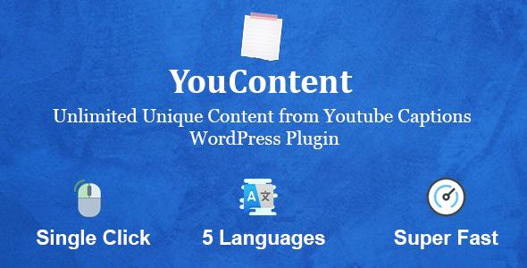 دانلود افزونه وردپرس تولید محتوا YouContent