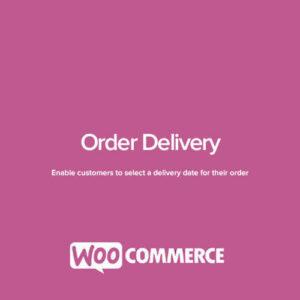 دانلود افزونه ووکامرس WooCommerce Order Delivery