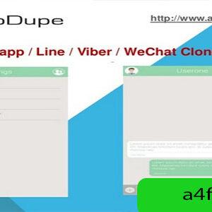دانلود سورس اپلیکیشن واتزاپ AppDupe