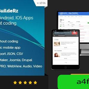 دانلود سورس اپلیکیشن ساز Ionic Mobile App Builder