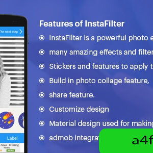 دانلود سورس اپلیکیشن فیلتر اینستاگرام Insta Filter