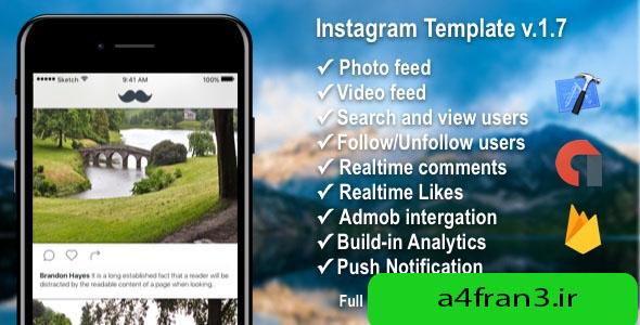 دانلود سورس اپلیکیشن موبایل شبکه اجتماعی فیلم و عکس Photo/Video Social Application with Firebase