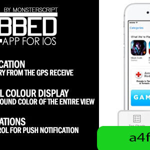 دانلود سورس اپلیکیشن Tabbed App for iOS