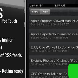 دانلود سورس اپلیکیشن iRSS - for iPhone - A simple RSS Reader