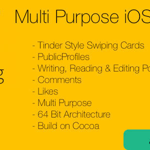 دانلود قالب اپلکیشن MyBlog Multi Purpose iOS Theme