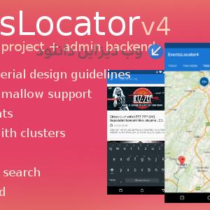 دانلود سورس اپلیکیشن رویداد EventsLocator