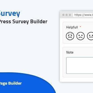 دانلود افزونه وردپرس فرم نظرسنجی AH Survey
