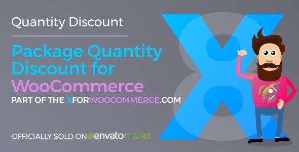 دانلود افزونه ووکامرس Package Quantity Discount