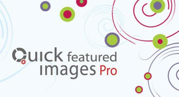 دانلود افزونه وردپرس Quick Featured Images Pro