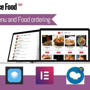 دانلود افزونه ووکامرس سفارش غذا WooCommerce Food