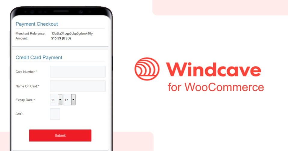 دانلود افزونه ووکامرس woocommerce Windcave