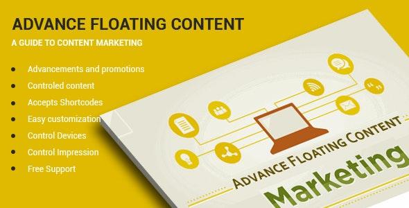 دانلود افزونه وردپرس Advanced Floating Content