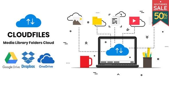 دانلود افزونه وردپرس مدیریت فایل های رسانه ای Cloudfiles