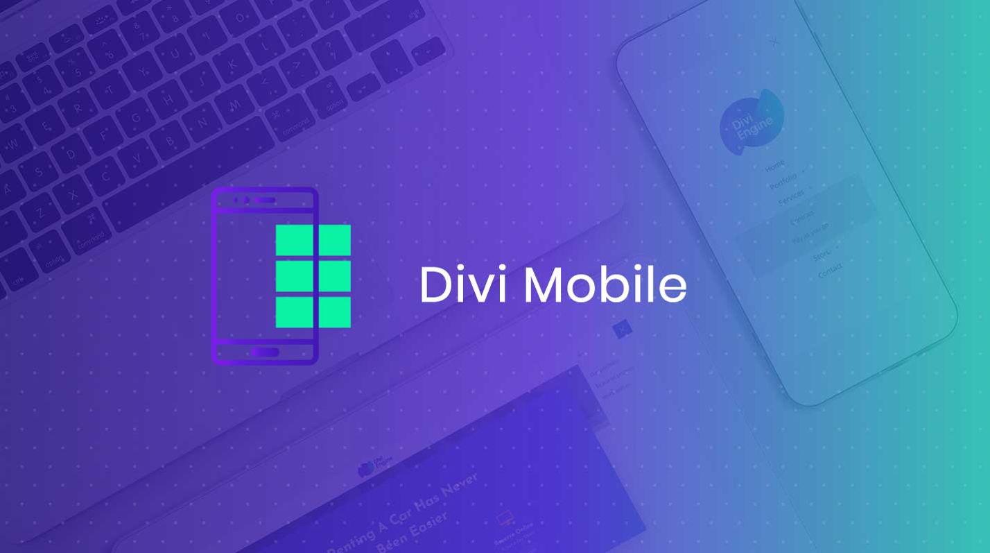 دانلود افزونه وردپرس منوهای موبایلی Divi mobile