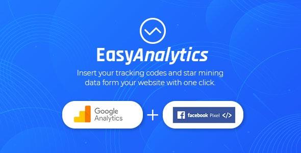 دانلود افزونه وردپرس Easy Analytics Tracking