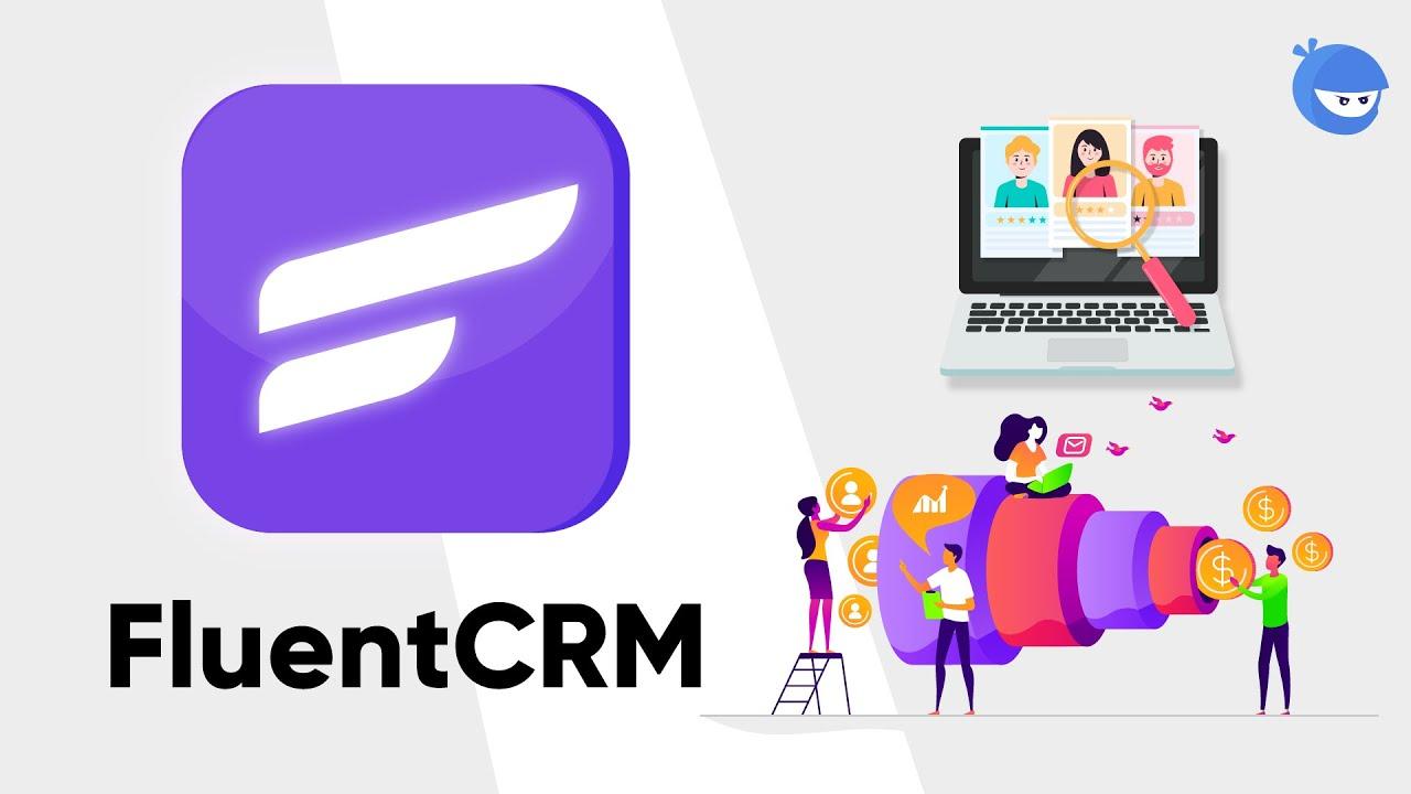 دانلود افزونه وردپرس ایمیل مارکتینگ FluentCRM Pro