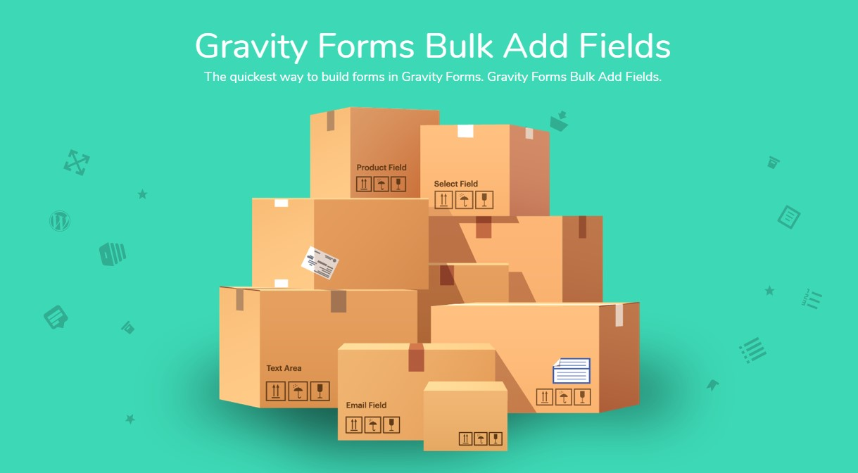 دانلود افزونه وردپرس Gravity Forms Bulk Add Fields