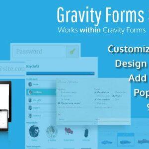 دانلود افزونه وردپرس Gravity Forms Styles Pro