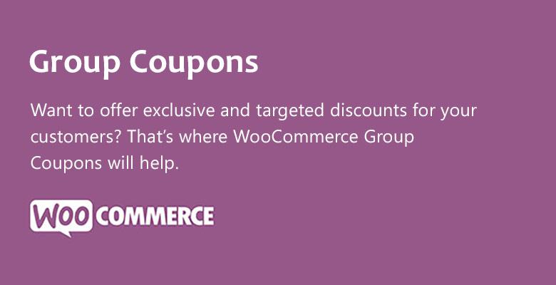 دانلود افزونه ووکامرس WooCommerce Group Coupons