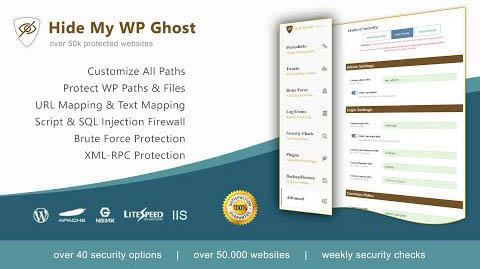 دانلود افزونه وردپرس امنیتی Hide My WP Ghost Pro
