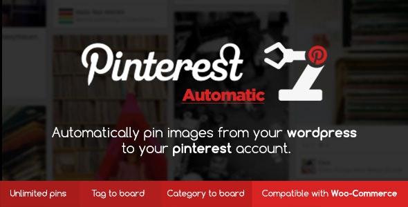 دانلود افزونه وردپرس Pinterest Automatic Pin