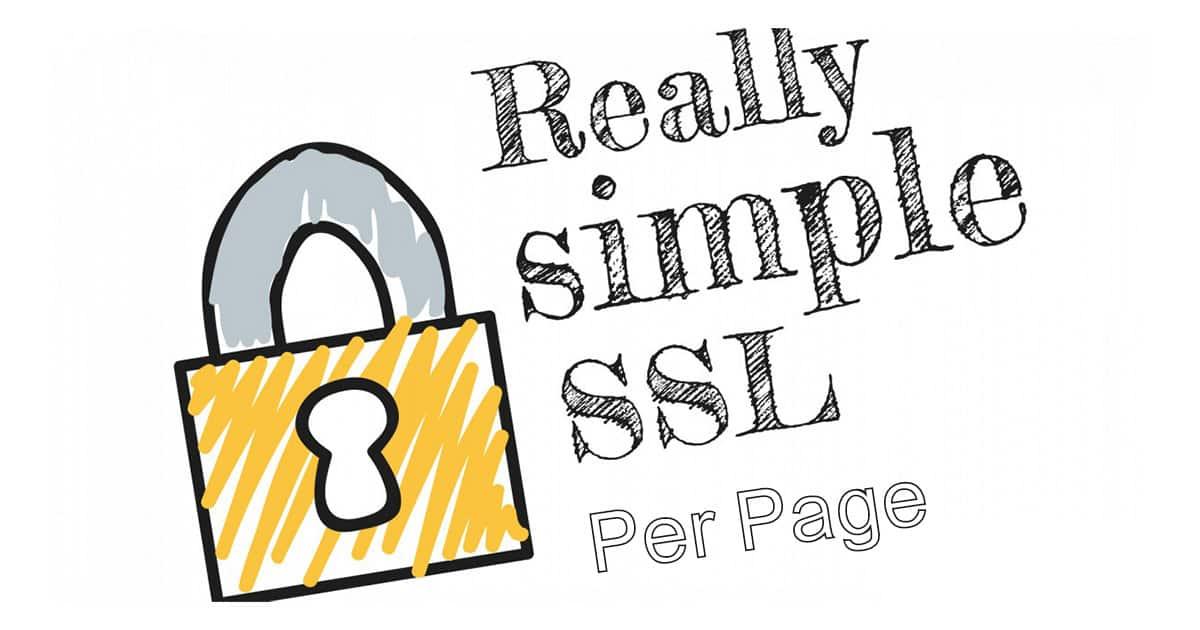 دانلود افزونه وردپرس Really Simple SSL per Page
