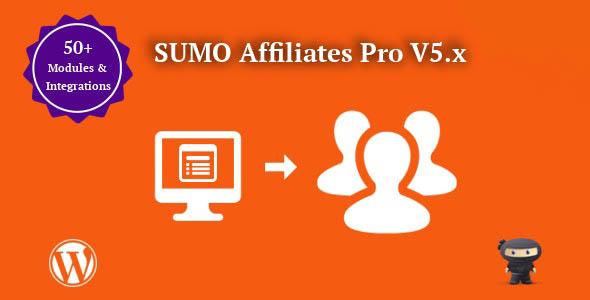 دانلود افزونه ووکامرس همکاری در فروش SUMO Affiliates Pro
