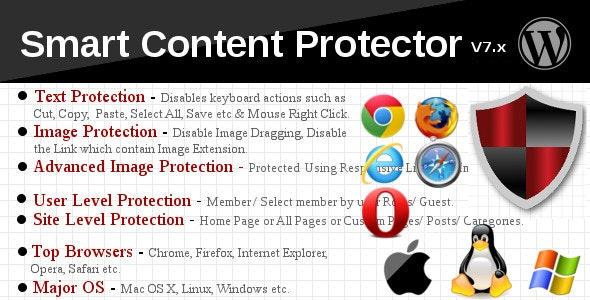 دانلود افزونه وردپرس Smart Content Protector