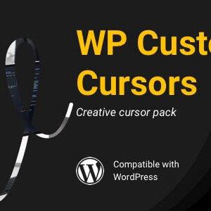 دانلود افزونه وردپرس سفارشی سازی ماوس WP Custom Cursors
