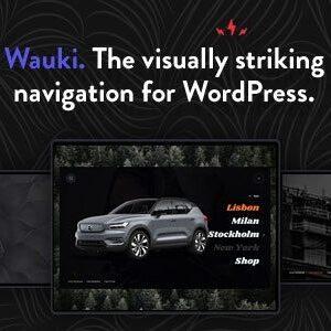 دانلود افزونه وردپرس منوی تمام صفحه Wauki