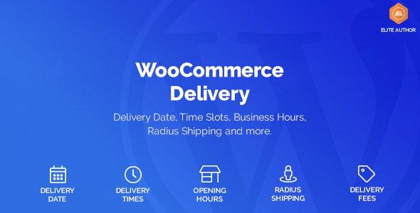 دانلود افزونه ووکامرس تاریخ دریافت سفارش WooCommerce Delivery