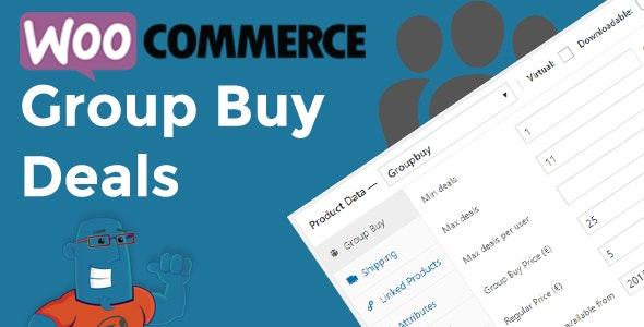 دانلود افزونه ووکامرس WooCommerce Group Buy and Deals